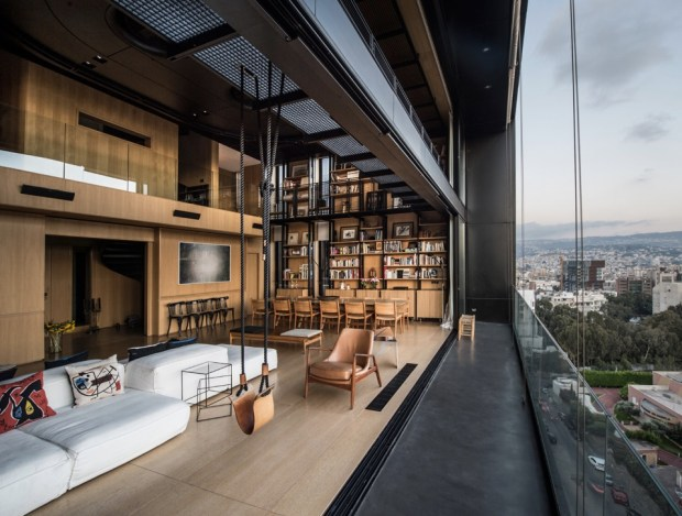 the-living-area-of-an-apartment-overlooking-beirut