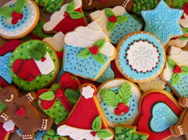 A beautiful collection Christmas Cookies
