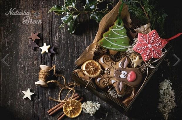 christmas-handmade-patterned-gingerbreads