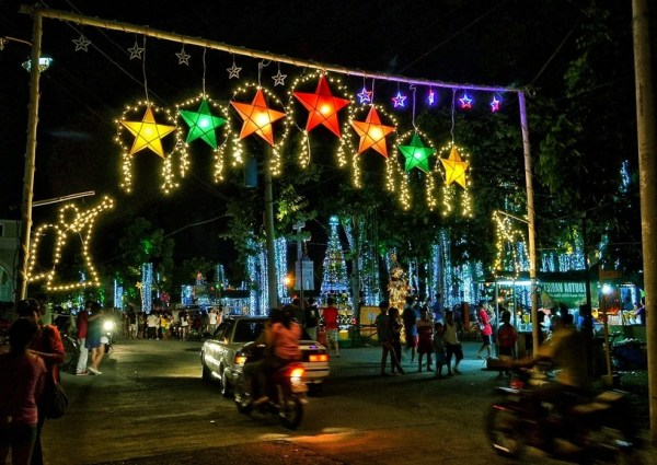 Christmas in a little town in the South Pacific