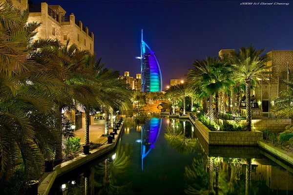 Reflections Of The Burj