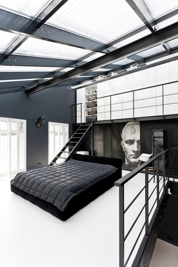 Bedroom with its own loft