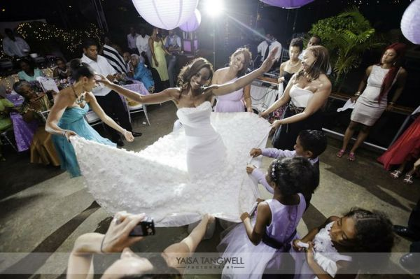 Centre of Attention. Danielle + Quincy wedding in Trinidad and Tobago