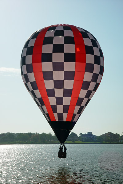 Balloon over Clear Lake