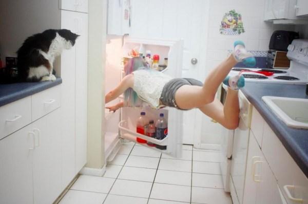 Dont leave the fridge open