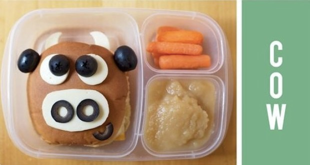 Amazing cow lunch idea