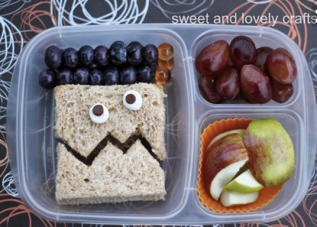 fall & halloween lunches