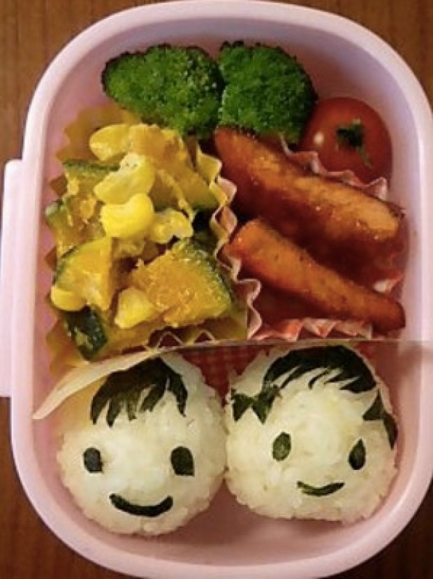 smiling kids lunch box