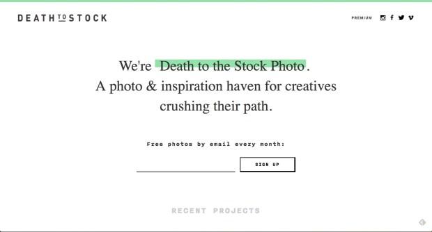 deathtostock
