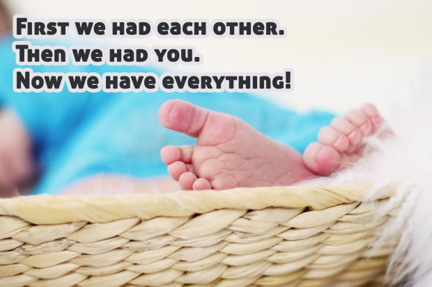 First we had each other. Then we had you. Now we have everything!