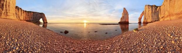 sunset-in-etretat