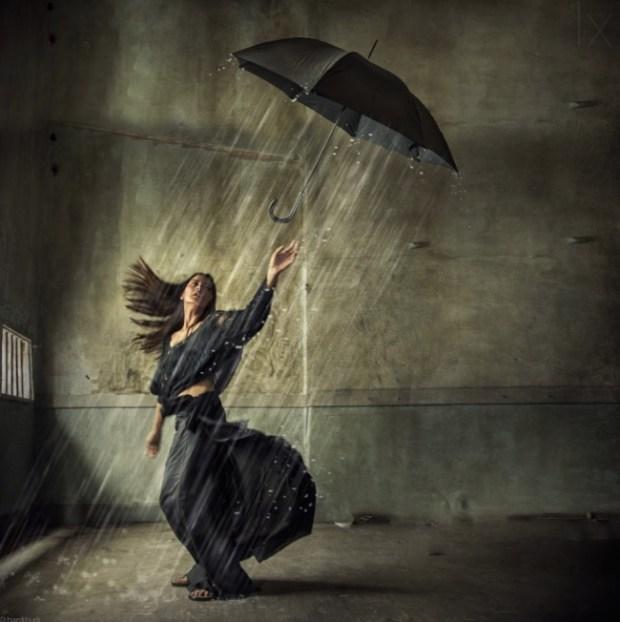Raindrop keep fallin' on my head