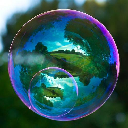 Bubble in bubble