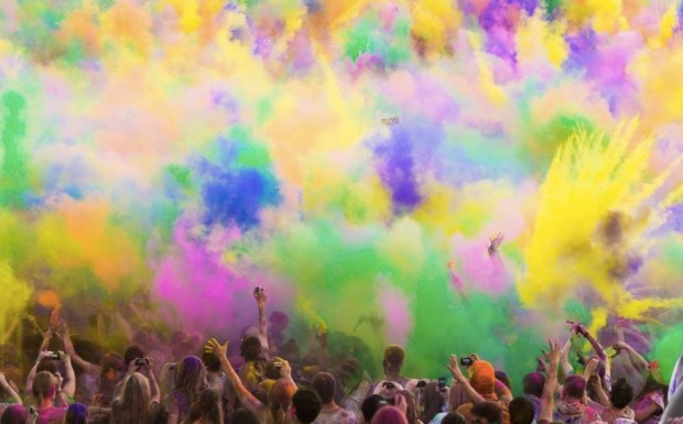 A colorful Festival