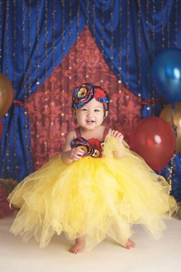 Beautiful Snow White Couture Tutu Dress Costume