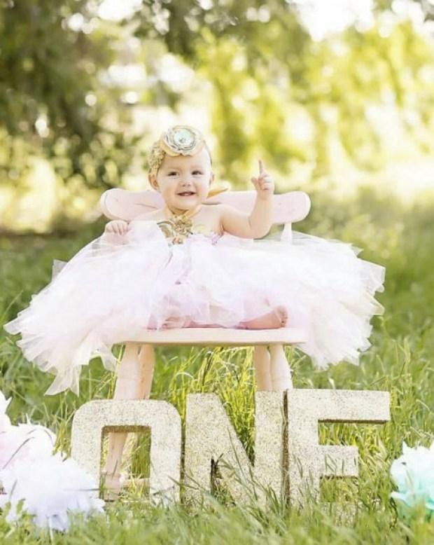 Gorgeous Beautiful Mint Pink and Gold Satin Shabby Chic Flower Tutu Dress