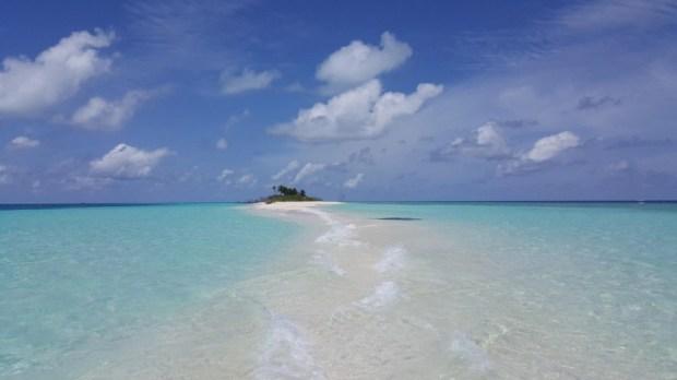 Where Oeans meet, Baa Atoll, Maldives