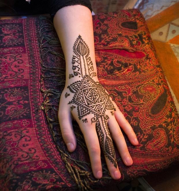 Traditional moroccan decorative art