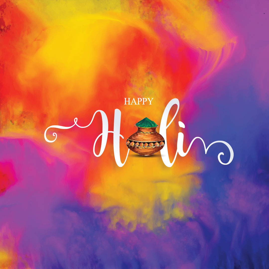 Holi wishes with love