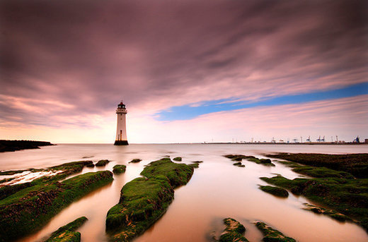 From East to West; New Brighton, The Wirral