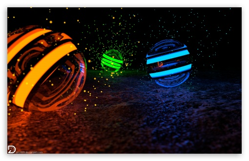 Spheres of Particles