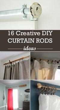 diy curtain rod ideas | Integralbook.com