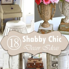 Diy Shabby Chic Living Room Ideas Modern With Brown Leather Couch 18 Home Decorating On A Budget