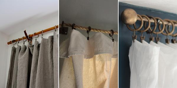 16 creative diy curtain rods ideas