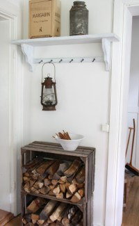 10 Indoor Firewood Storage Ideas