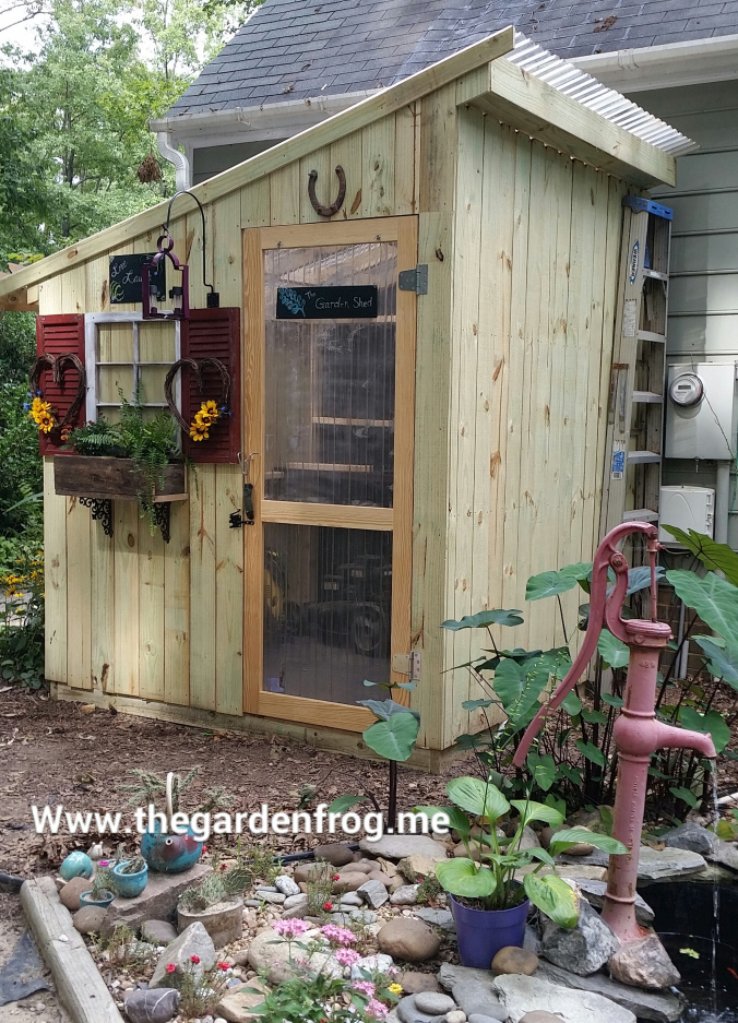 10 DIY Garden Shed Plans And Ideas