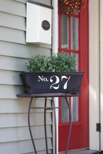 14 Creative DIY House Numbers Ideas