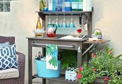 Outdoor Bar Cart Ideas