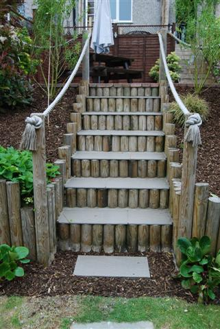 awesome diy garden steps