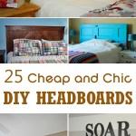 25 Cheap And Chic Diy Headboard Ideas