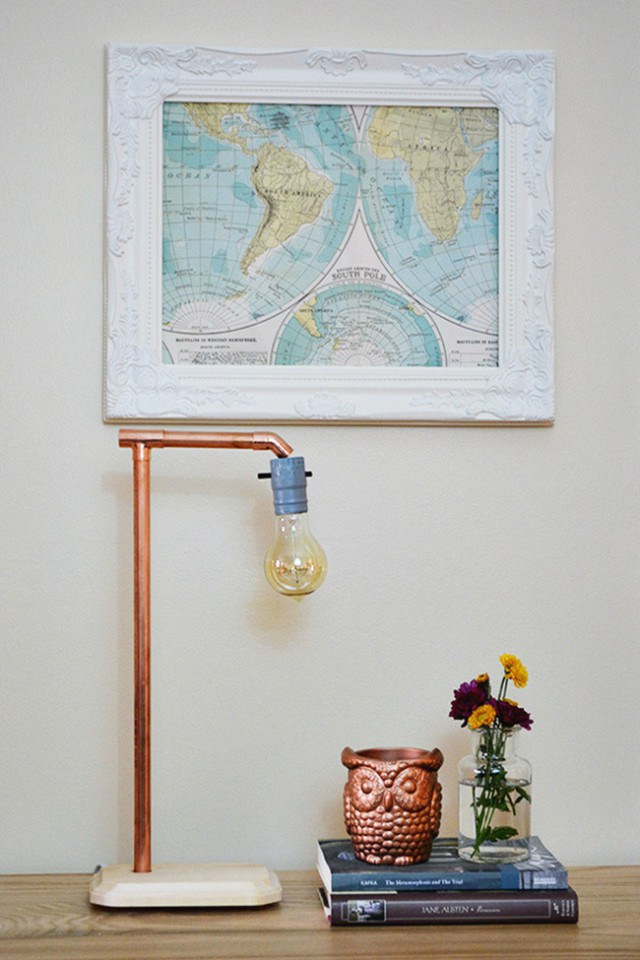 16 DIY Copper Pipe Projects For Home Dcor