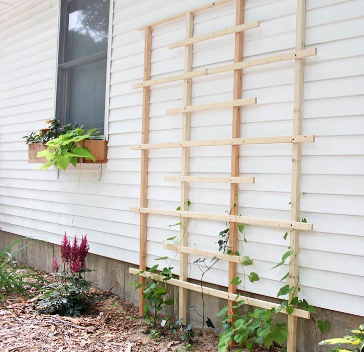12 DIY Garden Trellis Plans Designs And Ideas