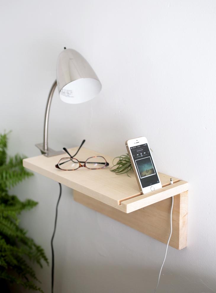 10 DIY Bedroom Nightstand Ideas