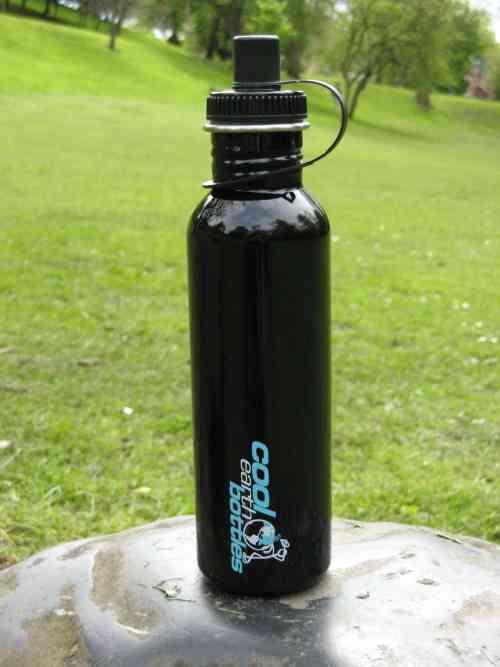 800ml Stainless Steel Bottle – Black
