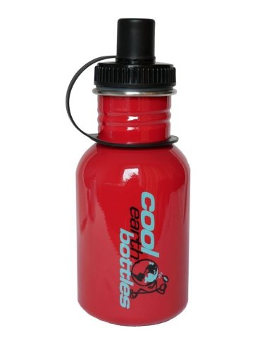 Steel Water Bottle 350ml Red