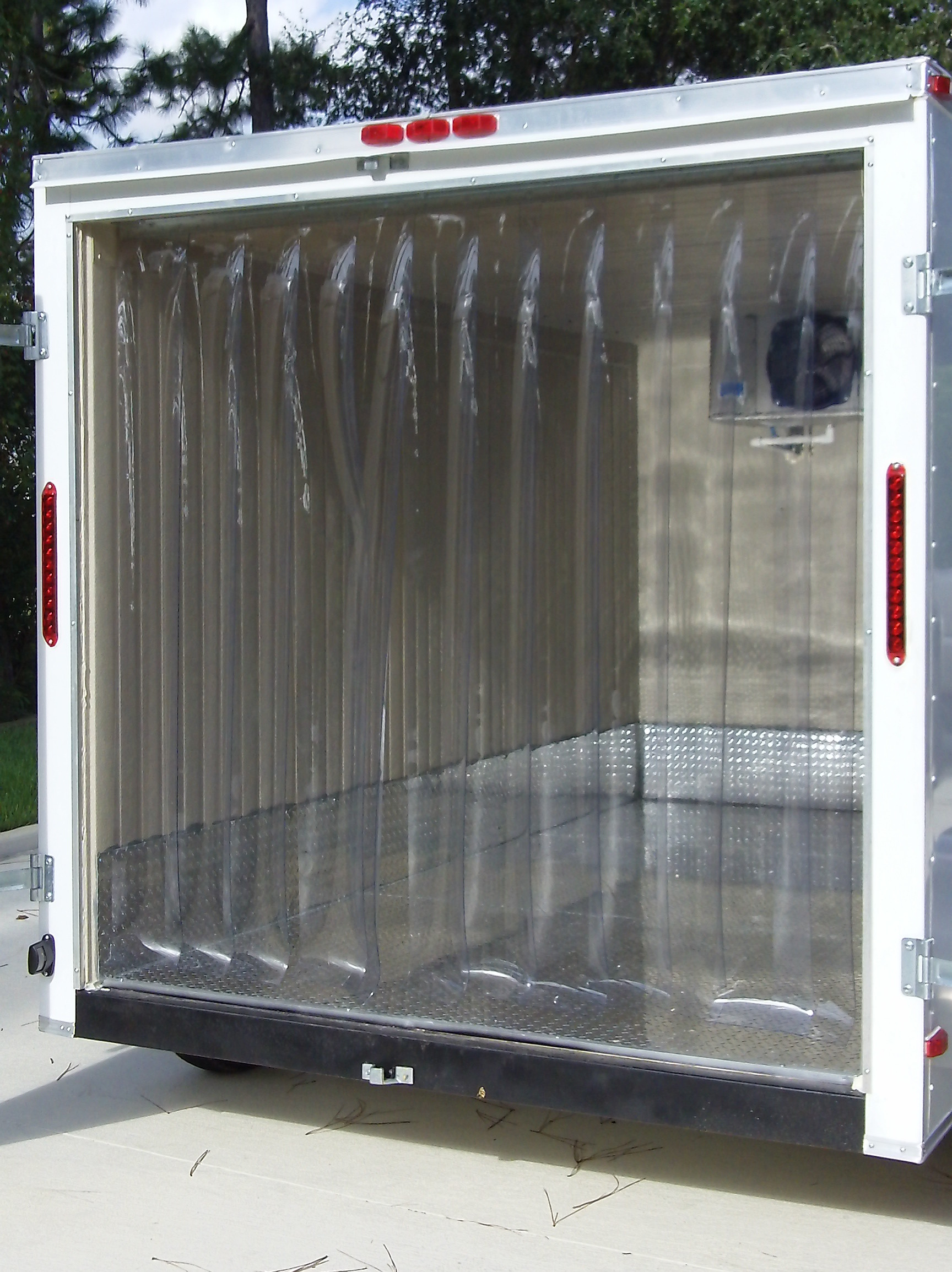 images for refrigerated trailer freezer curtains