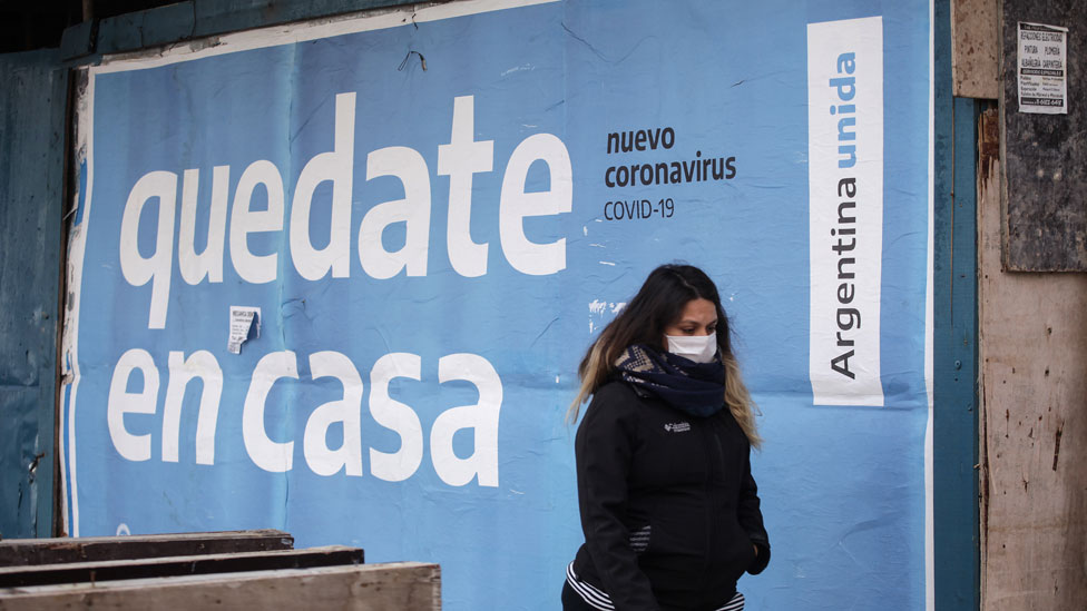 Argentina rompe nuevamente el récord de contagios por Covid-19
