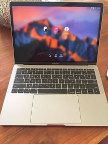Macbook Pro 13- Touch Bar 2017