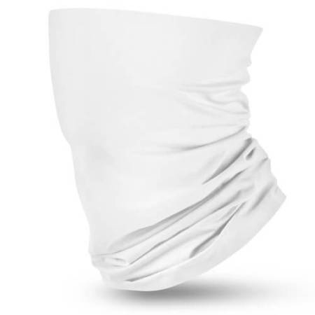 All White Flag Face Bandana