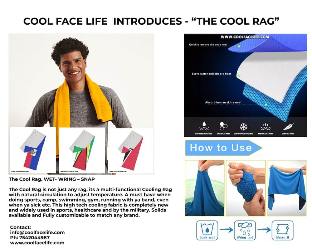 The Cool Rag - By Cool Face Life