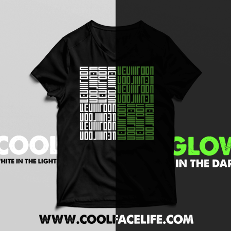 Cool-Face-Life-Glow-Tshirt