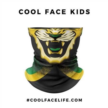 Kids Size - Jamaican Flag Face Bandana