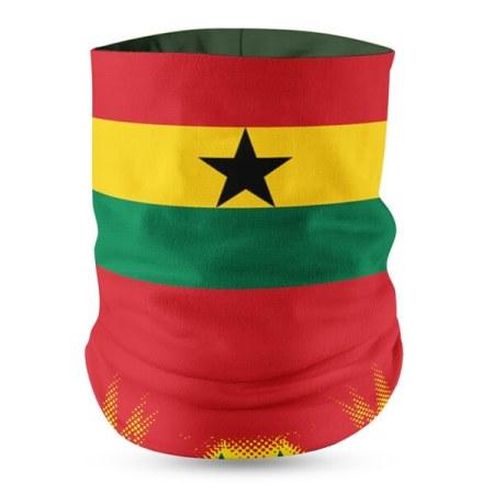 ghana flag bandana