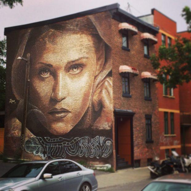 Mural in Montreal