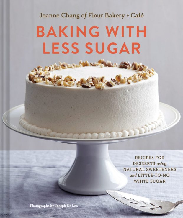Baking with less sugar cover