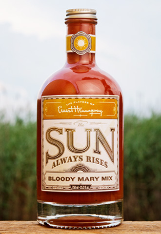 Ernest Hemingway Bloody Mary Mix The Sun Always Rises